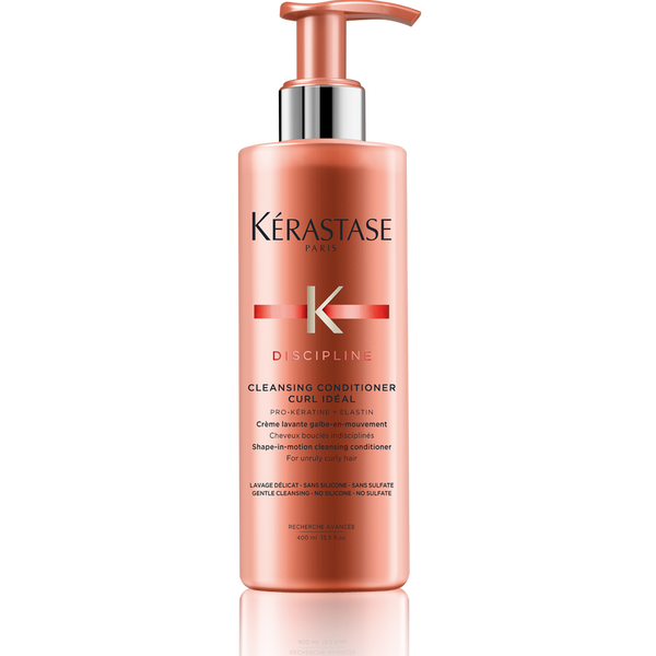 Discipline cleansing conditioner curl id al for curly hair for Kerastase bain miroir conditioner