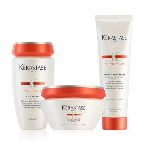 Nutritive Moderately Dry Hair Deep Treatment Hair Care Set