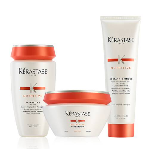 Kerastase Nutritive Brittle And Dry Hair Deep Treatment Hair Care Set Modesens