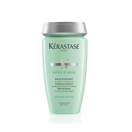 Specifique bain divalent shampoo for oily hair k rastase for Kerastase reflection bain miroir 1 shine revealing shampoo