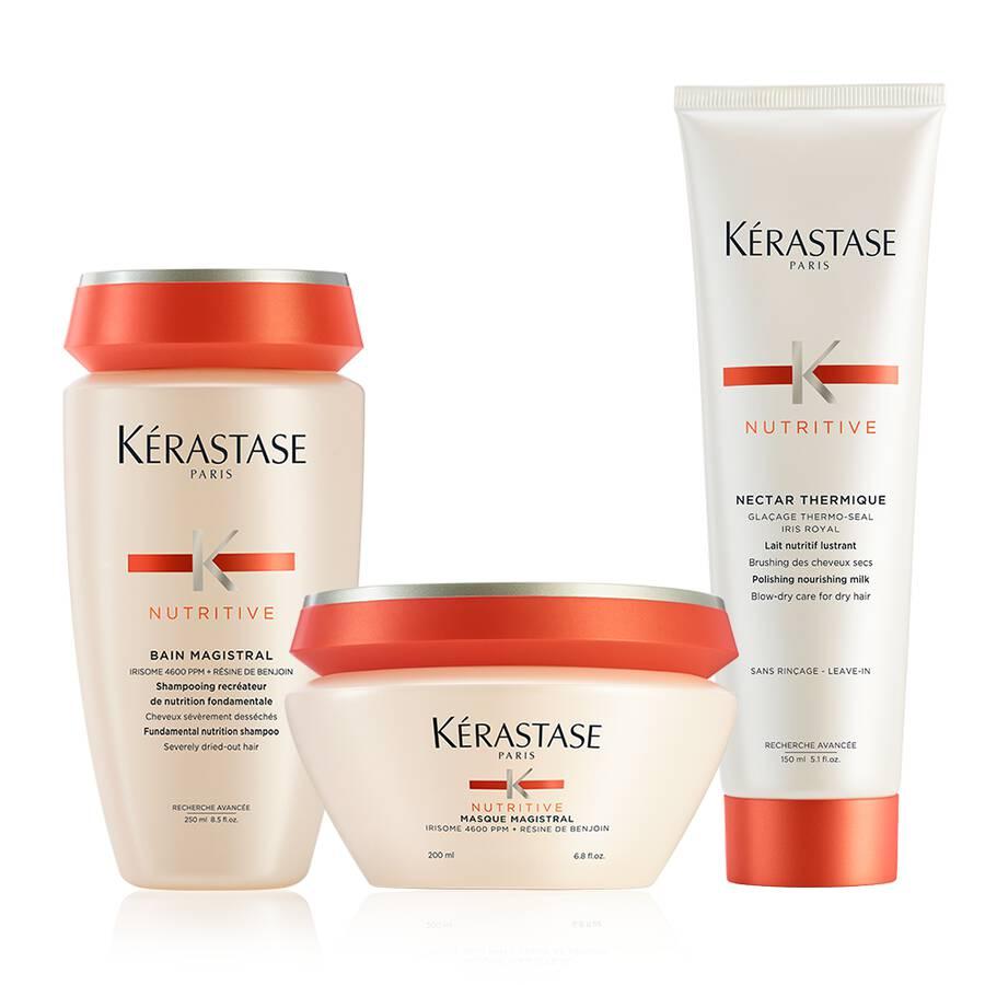 Nutritive Severely Dry Hair Treatment Hair Care Set Kerastase