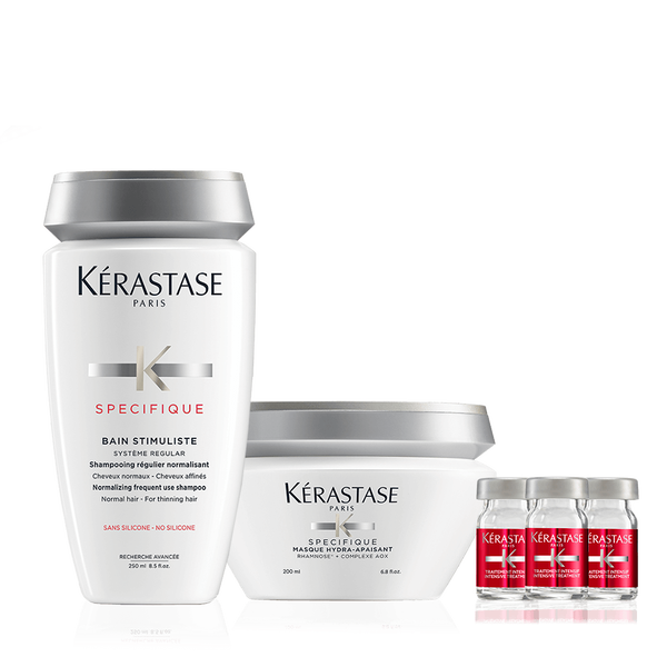 Specifique 3-Step Hair Care Regimen For Normal & Thinning Hair
