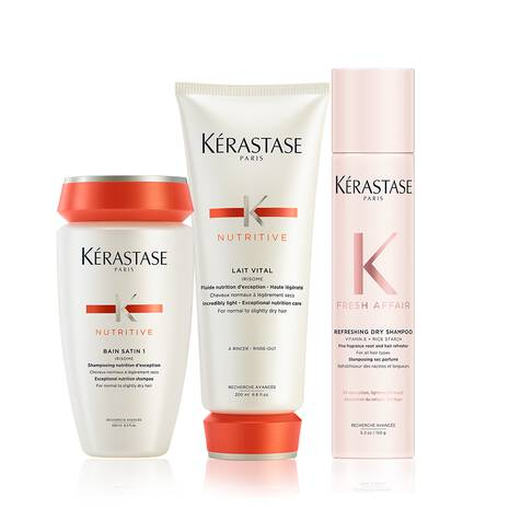 Nutritive Slightly Dry Hair Fresh Affair Dry Shampoo Set