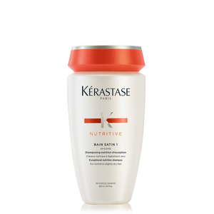 Nutritive bain satin 1 shampoo for dry hair k rastase for Kerastase bain miroir 2 shampoo