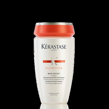 Nutritive bain satin 1 travel size shampoo for dry hair for Kerastase bain miroir shine revealing shampoo
