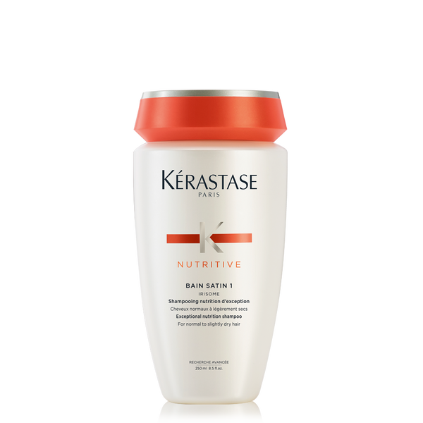 Nutritive bain satin 1 travel size shampoo for dry hair for Kerastase reflection bain miroir 1 shine revealing shampoo