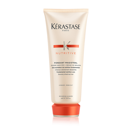 Nutritive fondant magistral hair conditioner k rastase for Kerastase bain miroir shine revealing shampoo