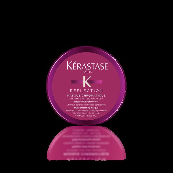 how to use kerastase reflection masque chromatique