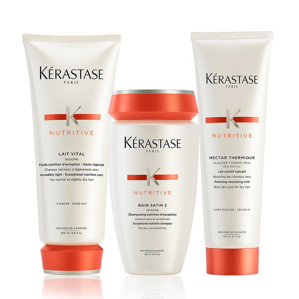 Nutritive Brittle And Dry Hair Set