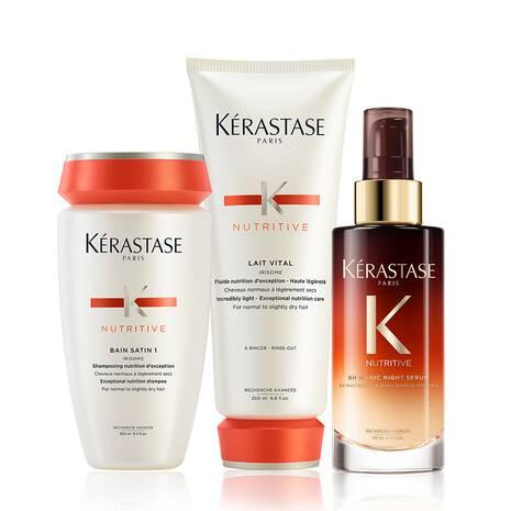 Nutritive Slightly Dry Hair Care Set
