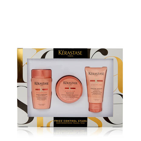 Frizz Control Stars Hair-Smoothing Travel Trio Set for Frizzy Hair