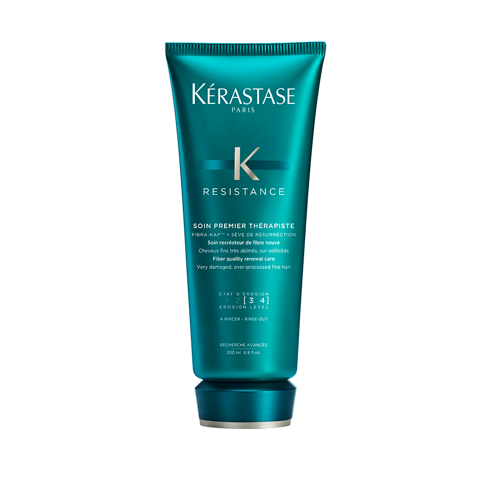 4000 usd female kerastase resistance soin premier therapiste conditioner for very damaged hair 68 fl oz 200 ml