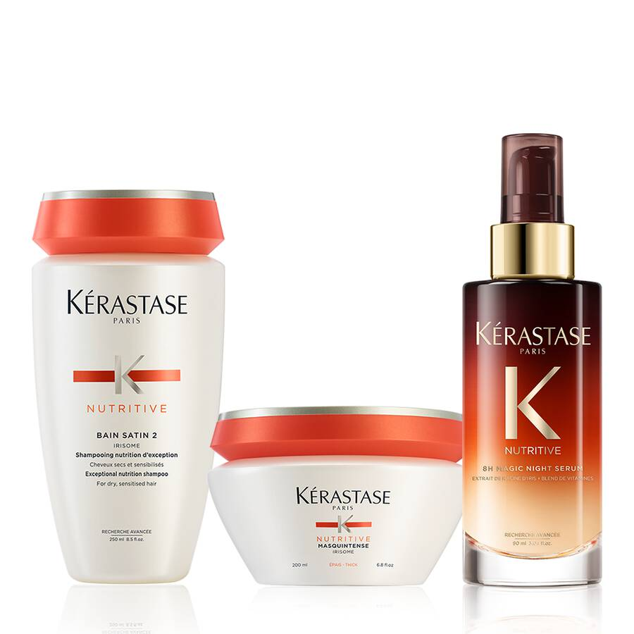Nutritive Moderately Dry Hair Care Set
