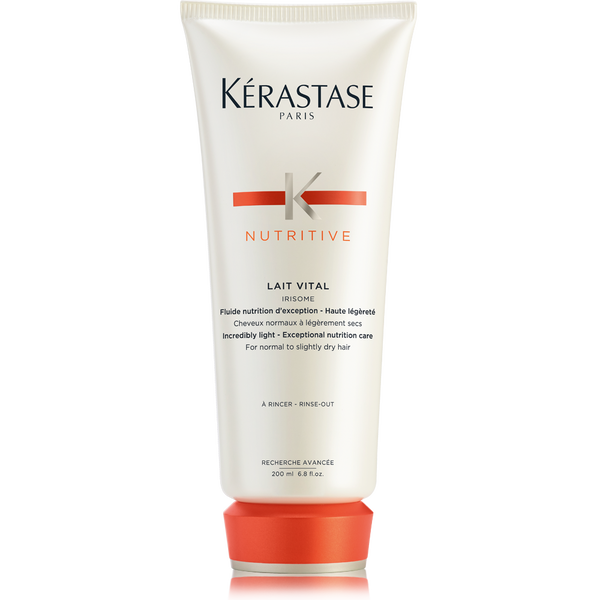 Nutritive lait vital conditioner for dry hair k rastase for Kerastase bain miroir shine revealing shampoo