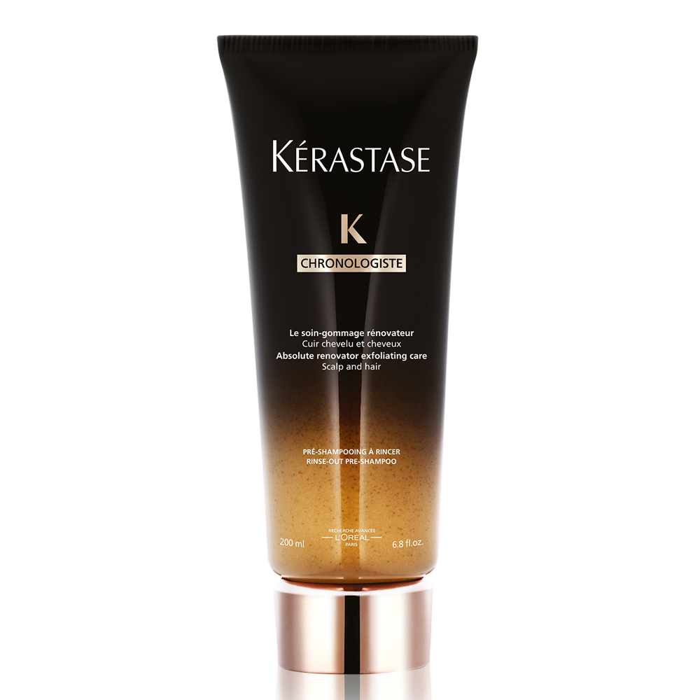 4600 usd female kerastase chronologiste the gommage pre shampoo scalp treatment for all hair types 68 fl oz 200 ml