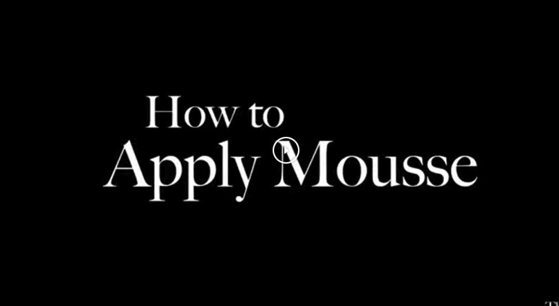 Learn how to use Densimorphose® mousse video tutorial