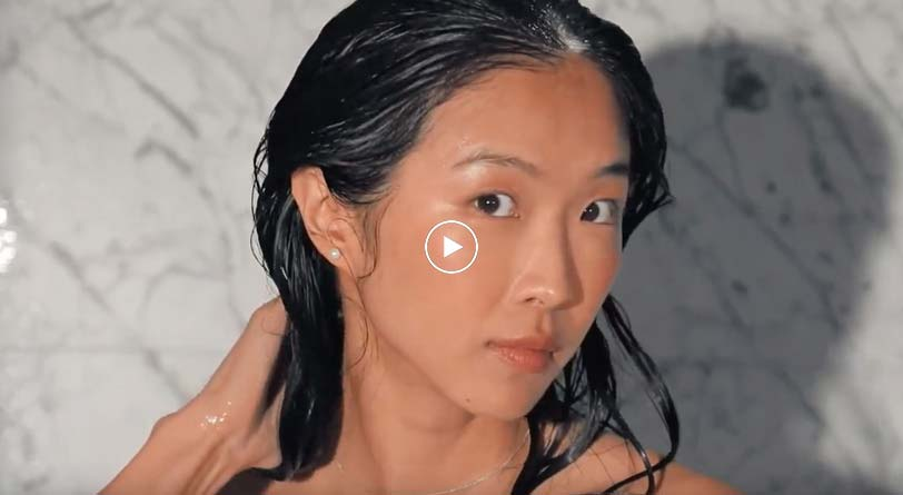 Learn how to use the Deluxe size Bain Chromatique Riche shampoo video tutorial