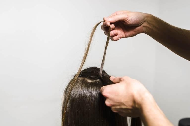 Bandaged Ponytail Hairstyle Tutorial