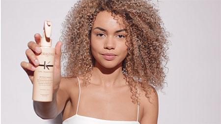 Kérastase 5 Steps to Care For Curly Hair