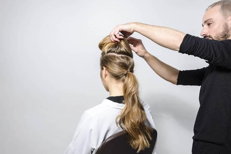 Double Top Knot Hairstyle Tutorial