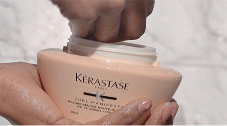 Kérastase 6 Steps to Care For Coily Hair