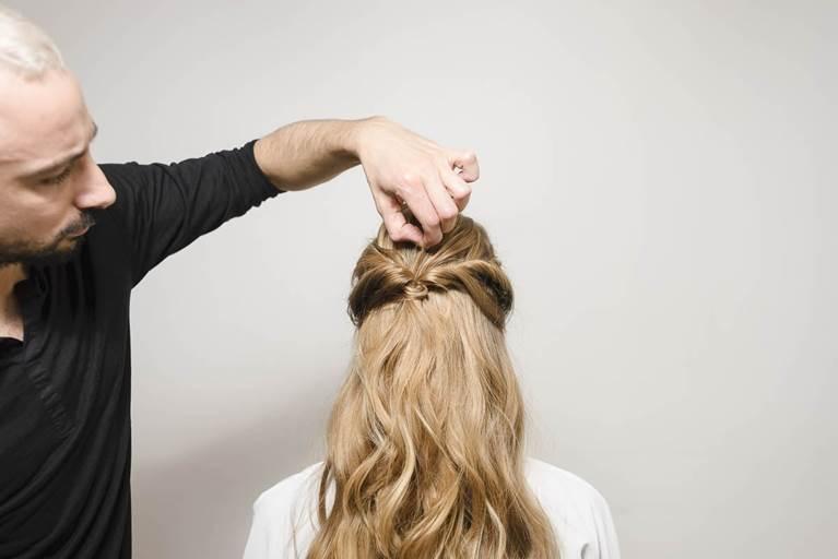 Summer Bohemian Rolls Hairstyle Tutorial