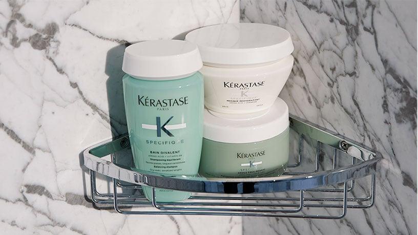Kérastase Spécifique Guide to Balancing Your Greasy Scalp & Dry Lengths