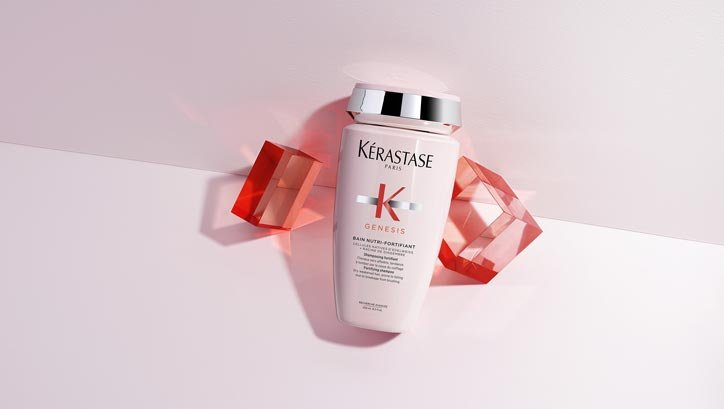 The First Dual Action Fortifying Hair Care