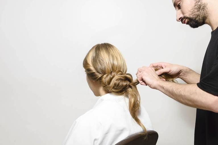 Braided Chignon Hairstyle Tutorial