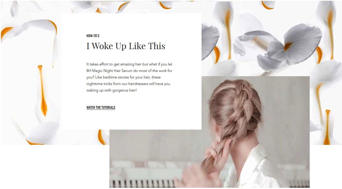 Kerastase Nutritive 8H Magic Night Hair Serum Iris Root Extract & 5 Vitamin Blend Ingredients