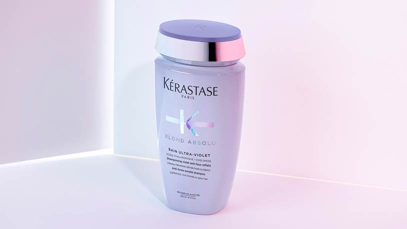 Kerastase Blond Absolu Blonde Hair Care - Bain Ultra-Violet Purple Shampoo