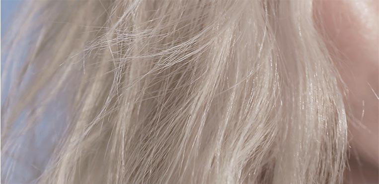 Kerastase Blond Absolu Blonde Hair Care, Before