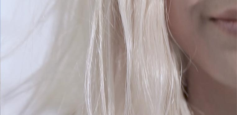 Kerastase Blond Absolu Blonde Hair Care, After