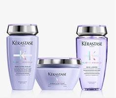 Kerastase Blond Absolu Hair Care for Platinum Blonde Hair