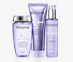 Kerastase Blond Absolu Hair Care for Honey Blonde Hair