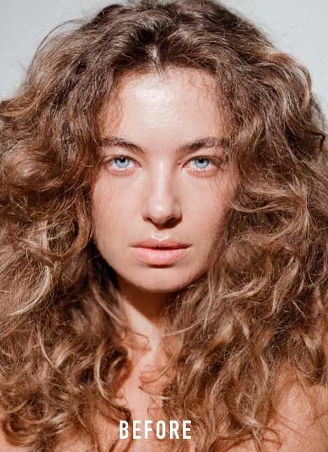 Your Moderately Dry Hair Before Using Kerastase Nutritive 8H Magic Night Hair Serum