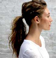 Natural Styles with Kerastase product